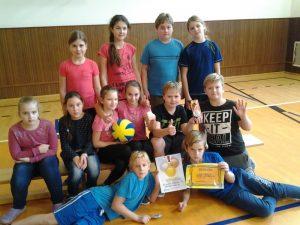 Nejlepšími a nejaktivnějšími hráči turnaje byli vyhlášeni  Veronika  Mrázková z 5.B 1bae6fd10a